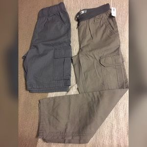 NWT Old Navy Cargo pants + Shorts bundle